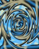 Liquid Swirl Background. A Computer generated liquid background stock illustration