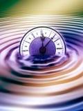Liquid time Stock Image