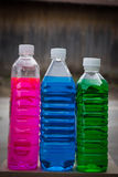 Liquid for wipers and antifreeze Stock Image