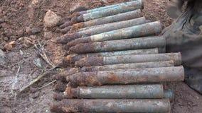 Liquidación de Artilery y remanente explosivos de la guerra metrajes