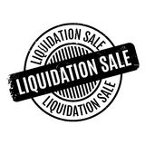 Liquidation Sale rubber stamp Stock Image