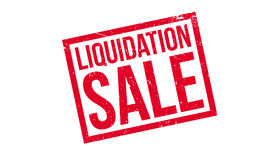 Liquidation Sale rubber stamp Royalty Free Stock Images