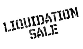 Liquidation Sale rubber stamp Royalty Free Stock Photography