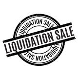 Liquidation Sale rubber stamp Stock Images