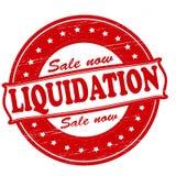 Liquidation. Stamp with word liquidation ine,  illustration Royalty Free Stock Image