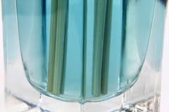 Liquide aromatique dans la bouteille images stock