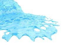 Liquide circulant illustration stock