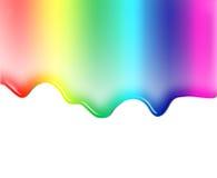 Liquide coloré illustration stock
