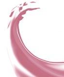 Liquide de jus de fraise illustration libre de droits