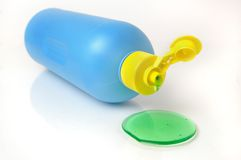 Liquide de vaisselle Images stock