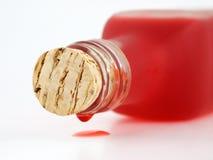 Liquide rouge photographie stock libre de droits
