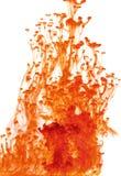 Liquide rouge abstrait Photographie stock
