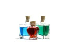 Liquides de couleur Images libres de droits
