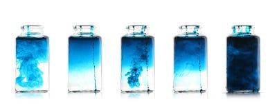 Liquides de mélange Image libre de droits