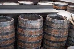 Liquido della birra del vino di legno Immagine Stock Libera da Diritti
