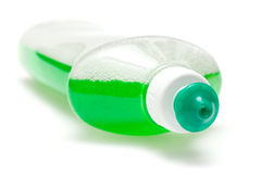 Liquido di piatto verde Immagini Stock