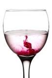Liquido rosa Fotografia Stock