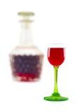 Liquido rosso Immagini Stock Libere da Diritti