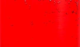 Liquido rosso in vetro Immagine Stock