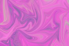 Liquify Abstract Pattern With Pink, Violet, Coral And Azure Graphics Color Art Form. Digital Background With Liquifying Flow.  royalty free illustration