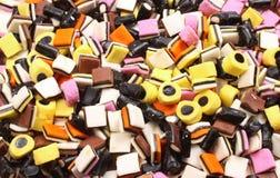 Liquirizia di Allsorts Fotografie Stock