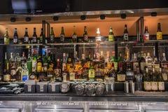 Liquor bar Stock Images