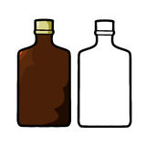 Liquor Bottle Stock Images