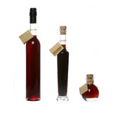 Liquor bottles Stock Image