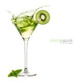 Liquor. Cocktails. Splash Royalty Free Stock Photos