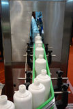 Liquor  filling machine Stock Photography