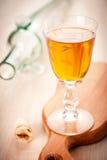 Liquor in a glass Stock Photos