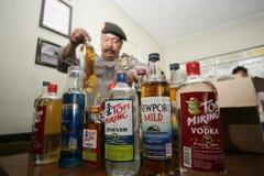 Liquor operation Stock Photo