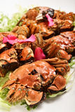 Liquor-Soaked crabs Royalty Free Stock Image