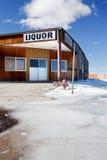 Liquor store Stock Photo