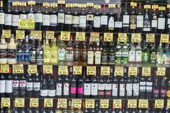 Liquor store, Barcelona. Stock Images