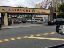 Liquor Store On Coney Island Avenue Royalty Free Stock Images