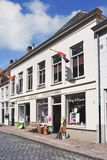 Liquor store housed in renovated mansion, Heusden, Netherlands Stock Photo