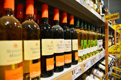 Liquor store Royalty Free Stock Images