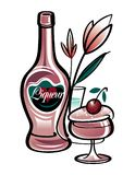 Liquore Immagini Stock