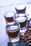 Liquore del caffè fotografia stock libera da diritti