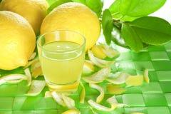 Liquore del limone Immagine Stock Libera da Diritti