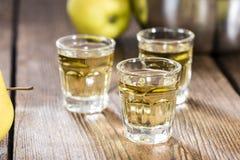 Liquore di Apple Fotografia Stock