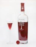 Liquore di Pama Fotografia Stock