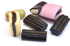 Liquorice. Sweets Royalty Free Stock Photos