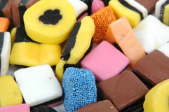 Liquorice. Sweets royalty free stock photography
