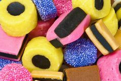 Liquorice Royalty Free Stock Images