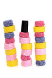 Liquorice Allsort Sweets Royalty Free Stock Photos