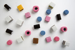 Liquorice Allsorts Stock Photo