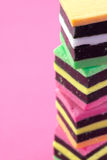Liquorice allsorts. Royalty Free Stock Photo