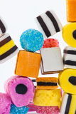 Liquorice allsorts Royalty Free Stock Images
